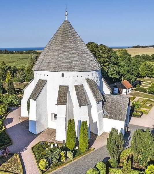 Rotunda Churches On Bornholm