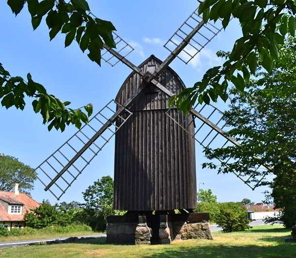 The oldest windmill on Bornholm